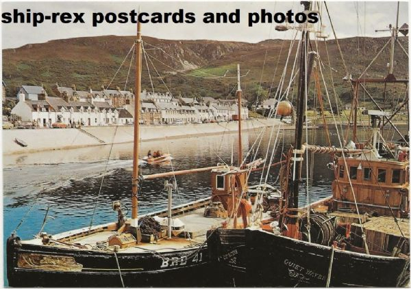 Ullapool (Ross-shire) postcard (j)